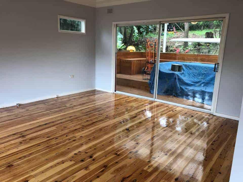 Timber Deck Sanding and Polishing Wollongong